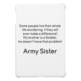 Army Sister No Problem Brother iPad Mini Covers
