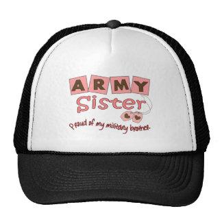 Army Sister --T-Shirts Mesh Hats