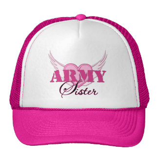 Army Sister Wings Hats