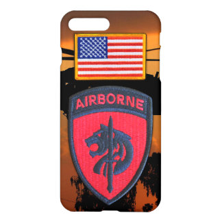 Army SOCAFRICA Special Ops Africa Veterans Patch iPhone 7 Plus Case