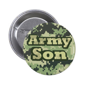 Army Son Pinback Buttons