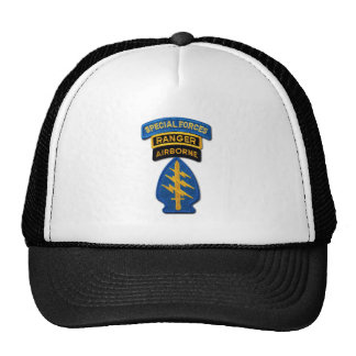 Army Special Forces Green Berets Rangers SF SFG Cap