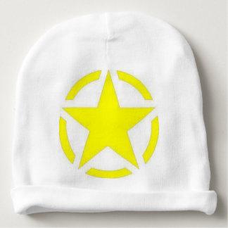 army star baby beanie