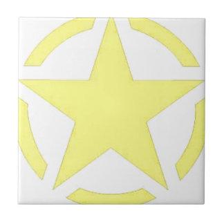 army star ceramic tile