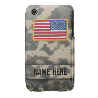 Army Style Digital Camouflage iPhone 3 Case