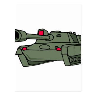 ARMY TANK POSTCARD
