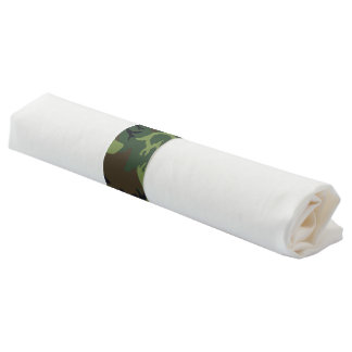 Army themed Birthday Party Napkin Band
