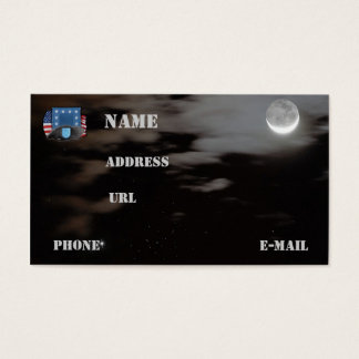 army units beret flash veterans vets business Card