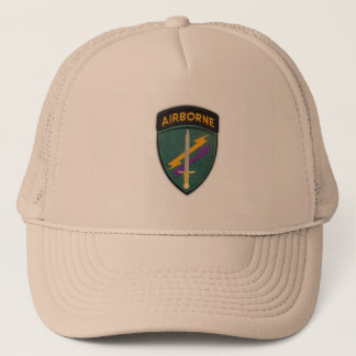 Army USACAPOC(A) Psychological Operations Command Trucker Hat