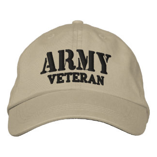 Army Veteran Hat Baseball Cap