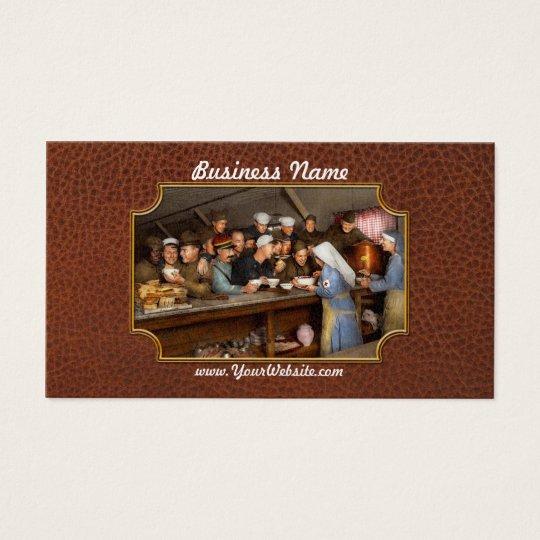 Army - War buddies 1918 Business Card