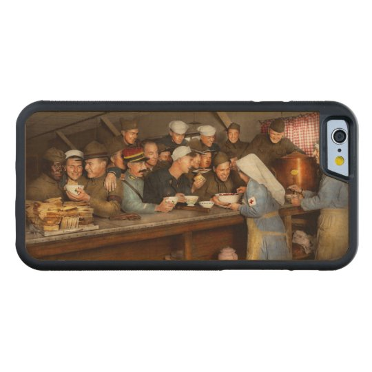 Army - War buddies 1918 Carved Maple iPhone 6 Bumper Case