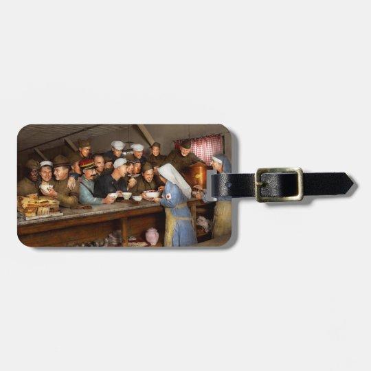 Army - War buddies 1918 Luggage Tag