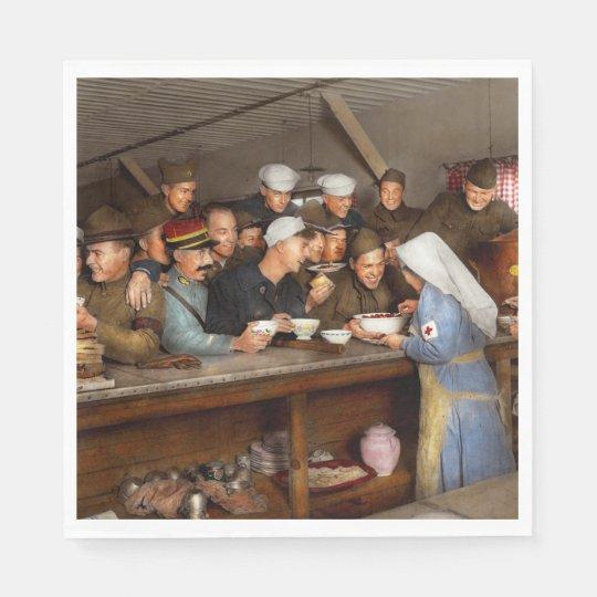 Army - War buddies 1918 Paper Serviettes