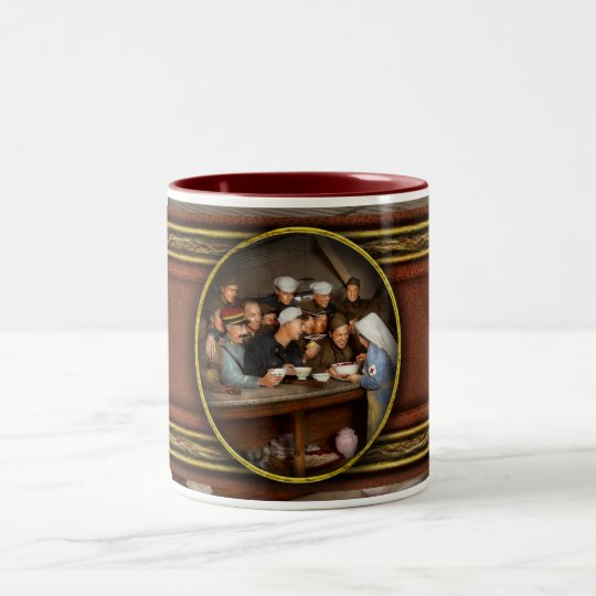 Army - War buddies 1918 Two-Tone Coffee Mug
