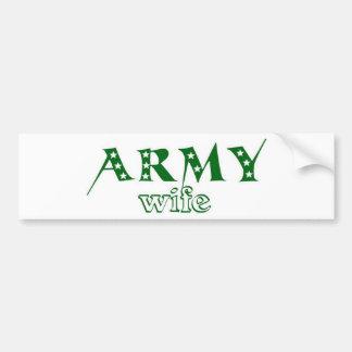 Army Wife 2 Bumper Sticker
