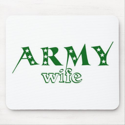 Army Wife 2 Mousepads
