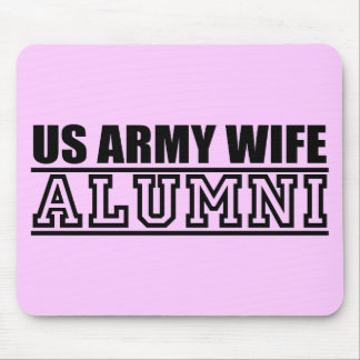 Army Wife Alumni Mouse Pad