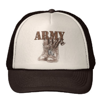 Army Wife Combat Boots N Dog Tags 1 Cap
