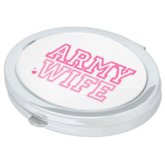 Army Wife Compact Mirrors