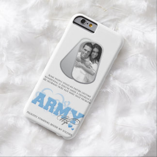 Army Wife Dog Tags Photo Barely There iPhone 6 Case