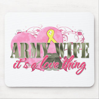 Army Wife Love Thing Mouse Pad