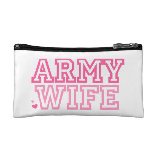 Army Wife Makeup Bags