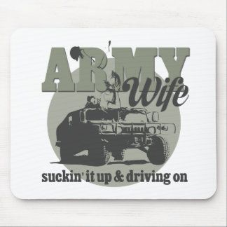 Army Wife Mouse Pad