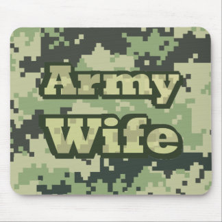 Army Wife Mouse Pads