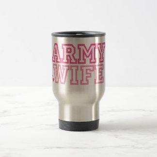 Army Wife (pink) Mug