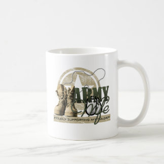 Army Wife - Proudly Supporting my Soldier Mug