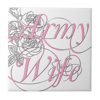 Army wife rose tiles