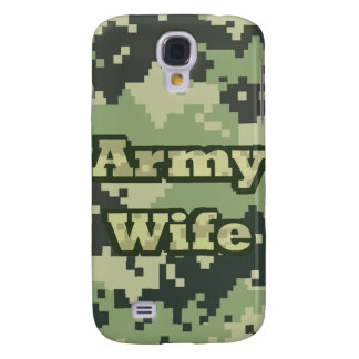 Army Wife Samsung Galaxy S4 Cover