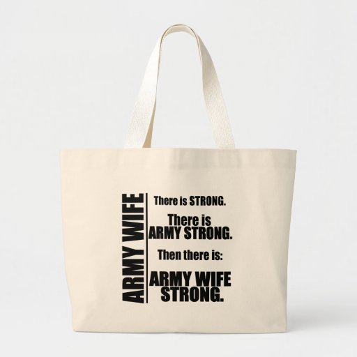 Army Wife Strong Bag