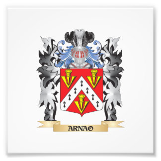 Arnao Coat of Arms - Family Crest Photo Art