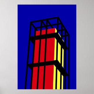 Arne Jacobsen's Tower Poster