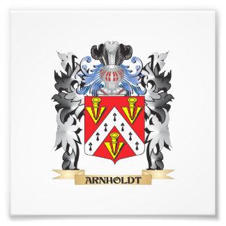 Arnholdt Coat of Arms - Family Crest Art Photo
