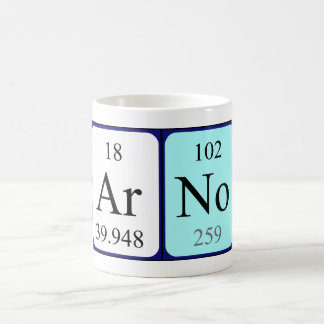 Arno periodic table name mug
