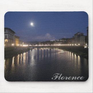 Arno River at Night Mouse Pad