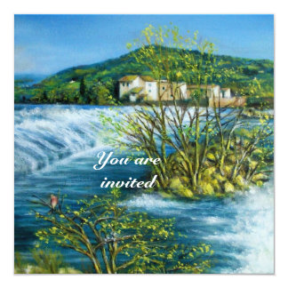 ARNO RIVER IN FLORENCE - TUSCANY CARD