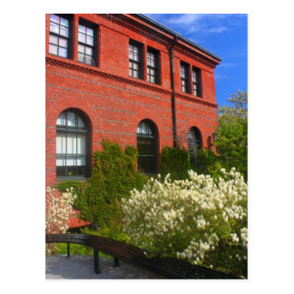 Arnold Arboretum Hunnewell Building Postcard
