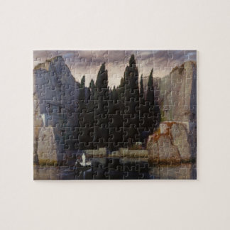 Arnold Böcklin - The Isle of the Dead Jigsaw Puzzles