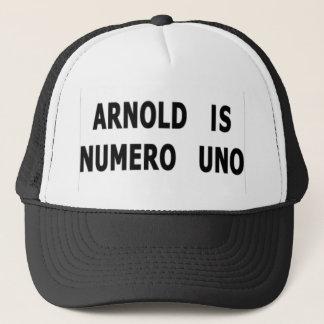 Arnold Is Numero Uno Trucker Hat