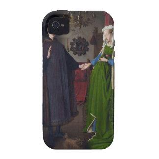 Arnolfini Portrait - Jan van Eyck iPhone 4/4S Cases