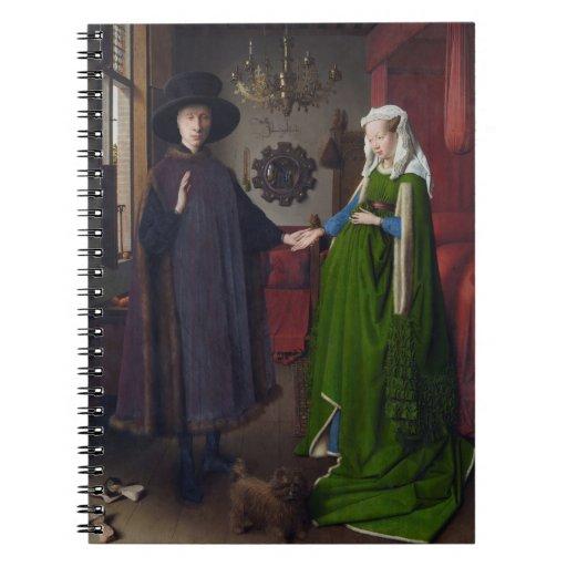 Arnolfini Portrait - Jan van Eyck Spiral Notebooks