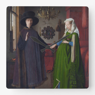 Arnolfini Portrait - Jan van Eyck Wall Clocks