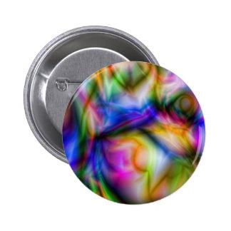 Arora Borialus Marbleised Colours 6 Cm Round Badge