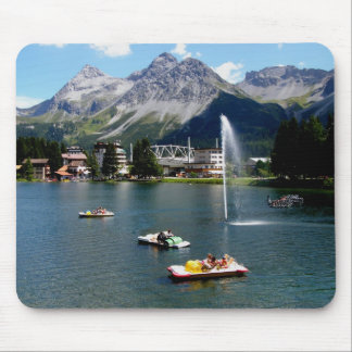 Arosa in Switzerland Mouse Pad