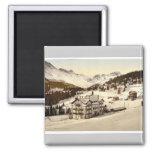 Arosa, in winter, Grisons, Switzerland vintage Pho