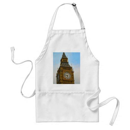 Around Britain,  Big Ben, Clock tower, Westminster Apron